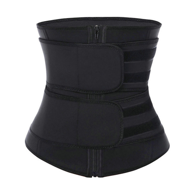 Fitness Body Shaper Band Weight Loss Sweat Slimming Waist Trainer Support Belt for Effective Working-out Accessories Dropship 1