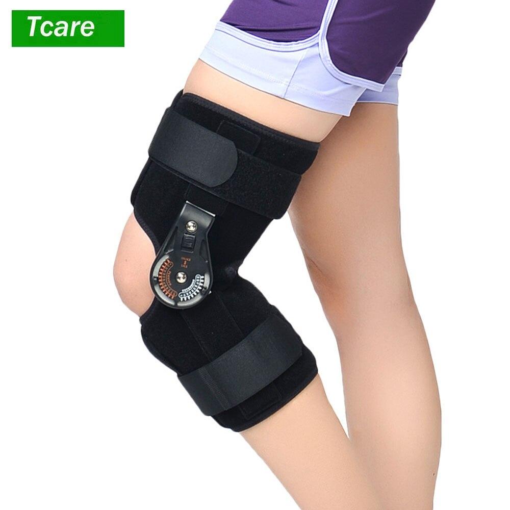 1 шт поддержка скобы коленного сустава Ортез/регулируемый/медицинская связка Спорт Травма шина колено перелом протектор S, M, L