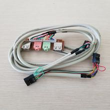 Шасси для настольного компьютера передняя панель ввода/вывода