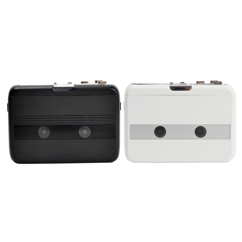Car Audio Receiver Bluetooth Cassette Tape Aux Adapter Player Support Bluetooth Input/ Output/FM Radio Tape Player Audio