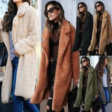 2019 European and American fashion street women's wear autumn winter new pure wool thickened turtleneck windbreaker women's coat(China)