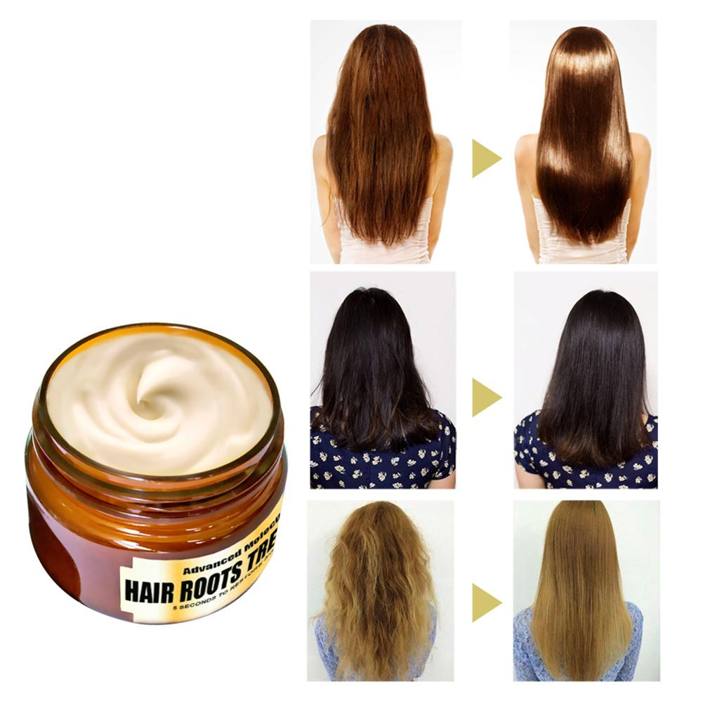Hydrating Deep Conditioner Hair Mask Hair Roots Treatment Return Bouncy Recover Elasticity Hair Care For Dry And Damaged Hair 2