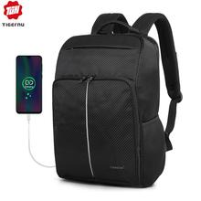 Tigernu 2020 New Classic Backpack Men High Quality Waterproof 15.6 inch Anti theft Laptop Backpack Fashion With 4.0 USB Charging