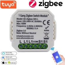 Tuya ZigBee Switch Module Intelligent Household Converted Module No/With Neutral Wireless Light Switch Multipurpose Tool