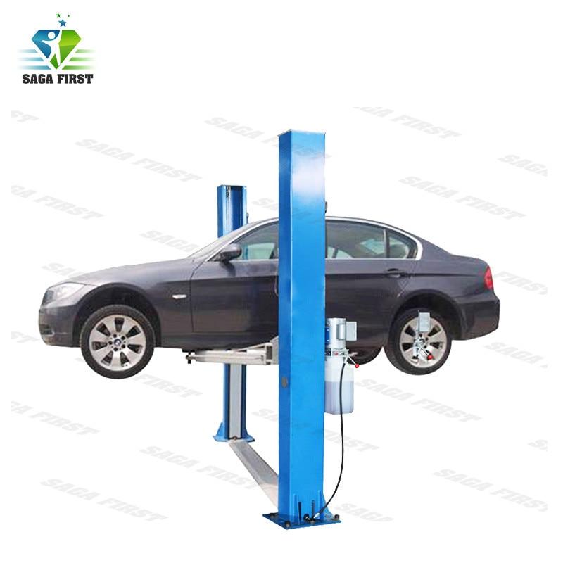 Dual Safety Locks Automatic Two Post Car Hoist