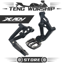 цена на Foot Pegs XADV-750 Foot-peg Motorcycle Passenger Rests Pedals For XADV XADV750 2017 2018 FootRests