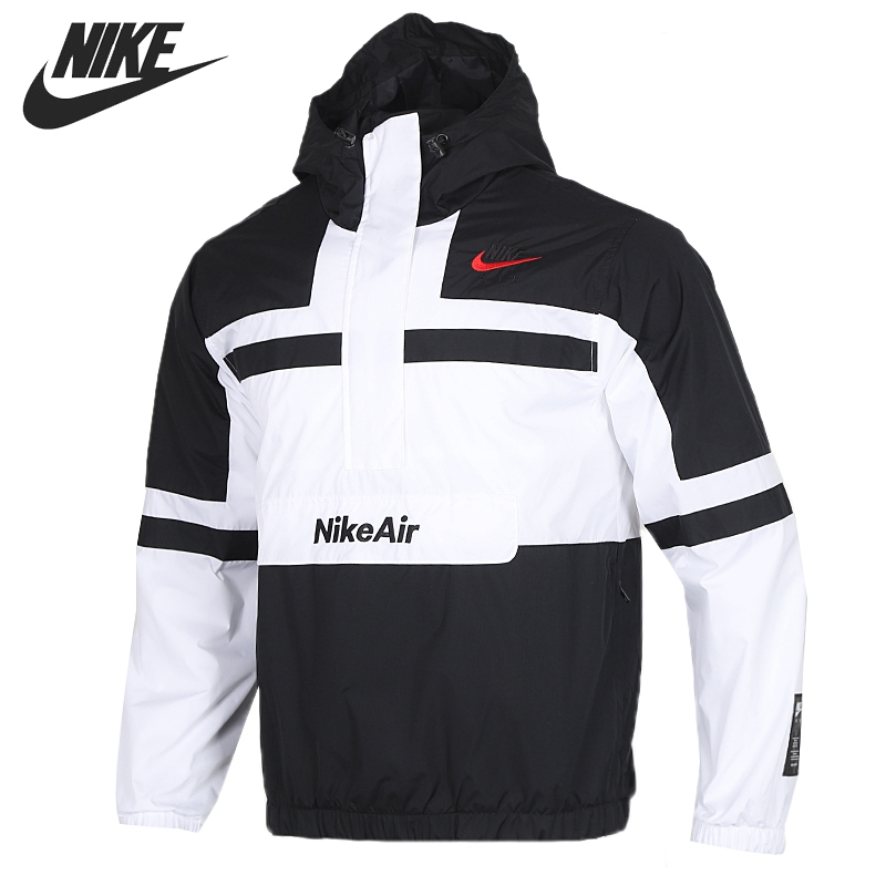 Original New Arrival  NIKE M NSW NIKE AIR JKT WVN Men's  Jacket Hooded  Sportswear