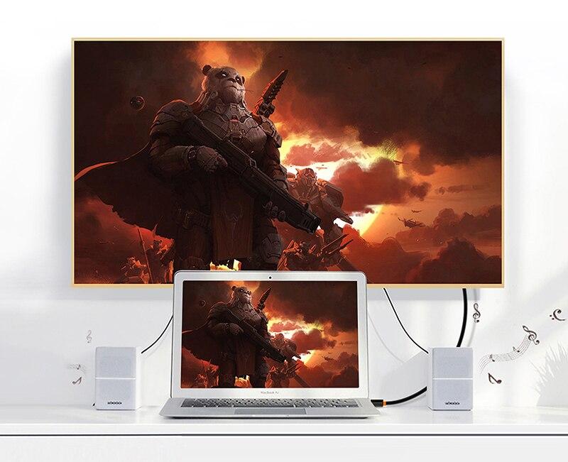 Cabletime Dp Naar Hdmi-Compatibel M/F Converter 4K/2K Display Port Naar Hdmi-compatibel Adapter Displayport Hdmi 4Kfor Macbook N007 32