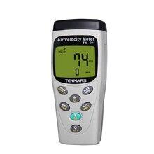 TENMARS TM-401 Multi-function Anemometer Temperature Humidity Stress Tester,Memory capacity: 99 records.Humidity Sensor.