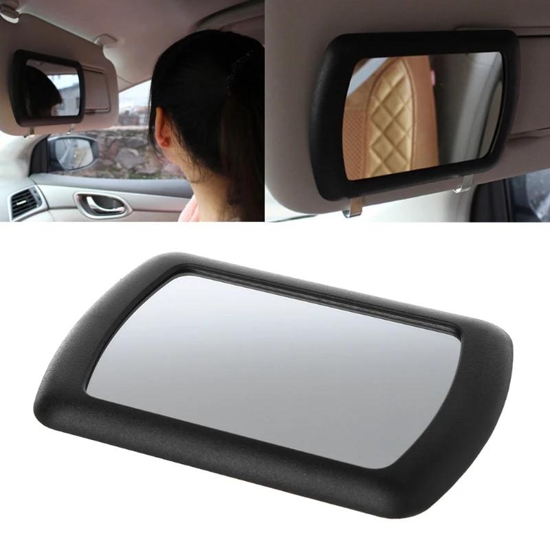 Automotive Mirrors Car Visor Mirror Foldable Makeup Vanity Mirror ...