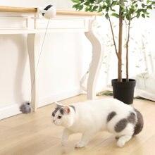 Электрическая автоматическая подъемная игрушка мяч для кошек