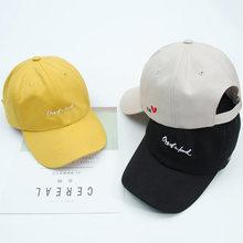 Кепка с боковой вышивкой для мужчин и женщин модная шапка от