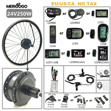 24V 36V 48V 250W 350W 500W 16-28 Inch Conversion Kit Electric Bicycle Electric Bike Kit for Motor Wheel Front