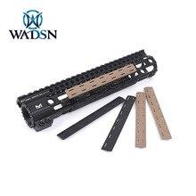 Wadsn 5ピース/セットエアガンbcm m 洛レールカバー狩猟戦術softairポリマーmlokハンドガードプロテクターライフル武器アクセサリー