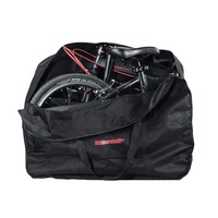 Large Folding Bike Carrier Bicycle Carry Packing Bag Foldable Bicycle Transport Bag Waterproof Loading Vehicle Pouch