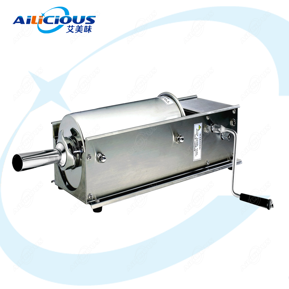 TV3L Manual Sausage Stuffer Ham Sausage Hot Dog Filler Machine Stainless Steel 3L 5L 7L