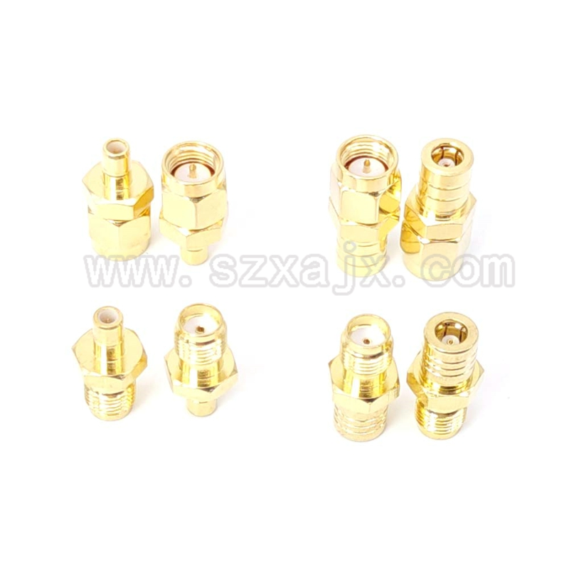 JX Connector SMA To SMB RF Adapter SMA Male To SMB Female SMA Female To SMB Male RF Coax Coaxial Adapter