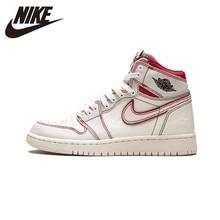 Air Jordan 1 GS AJ1 Women's Skateboarding Shoes New Arrival HighLight Sports Sneakers #575441-160