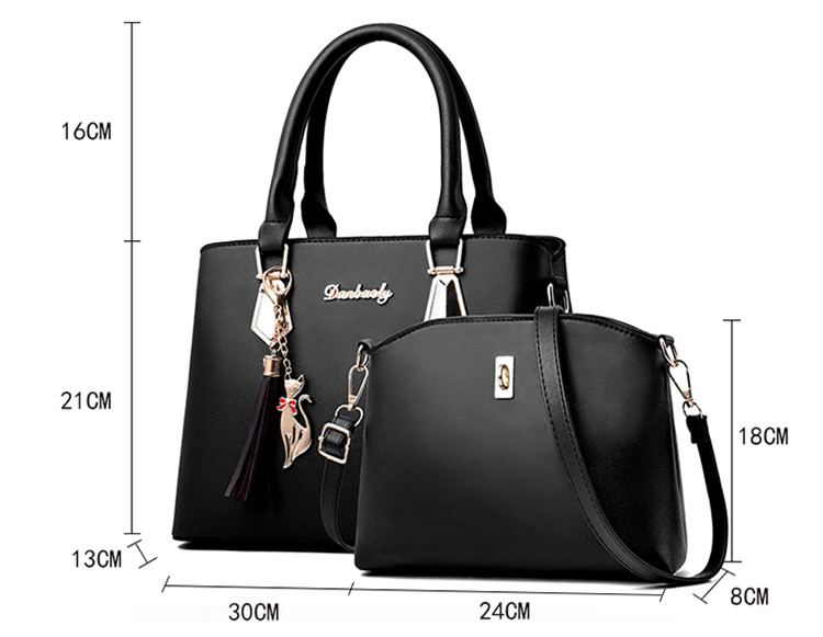 Hefeb9358f7a74cfba437ef61986c9fffZ - Fashion Woman Bag Female Hand Tote Bag Messenger Shoulder Bag  Lady HandBag Set Luxury Hand bag composite bag  bolsos