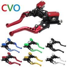 цена на Brake pump master cylinder motorcycle handlebar hydraulic clutch racing motorcycle 7/8