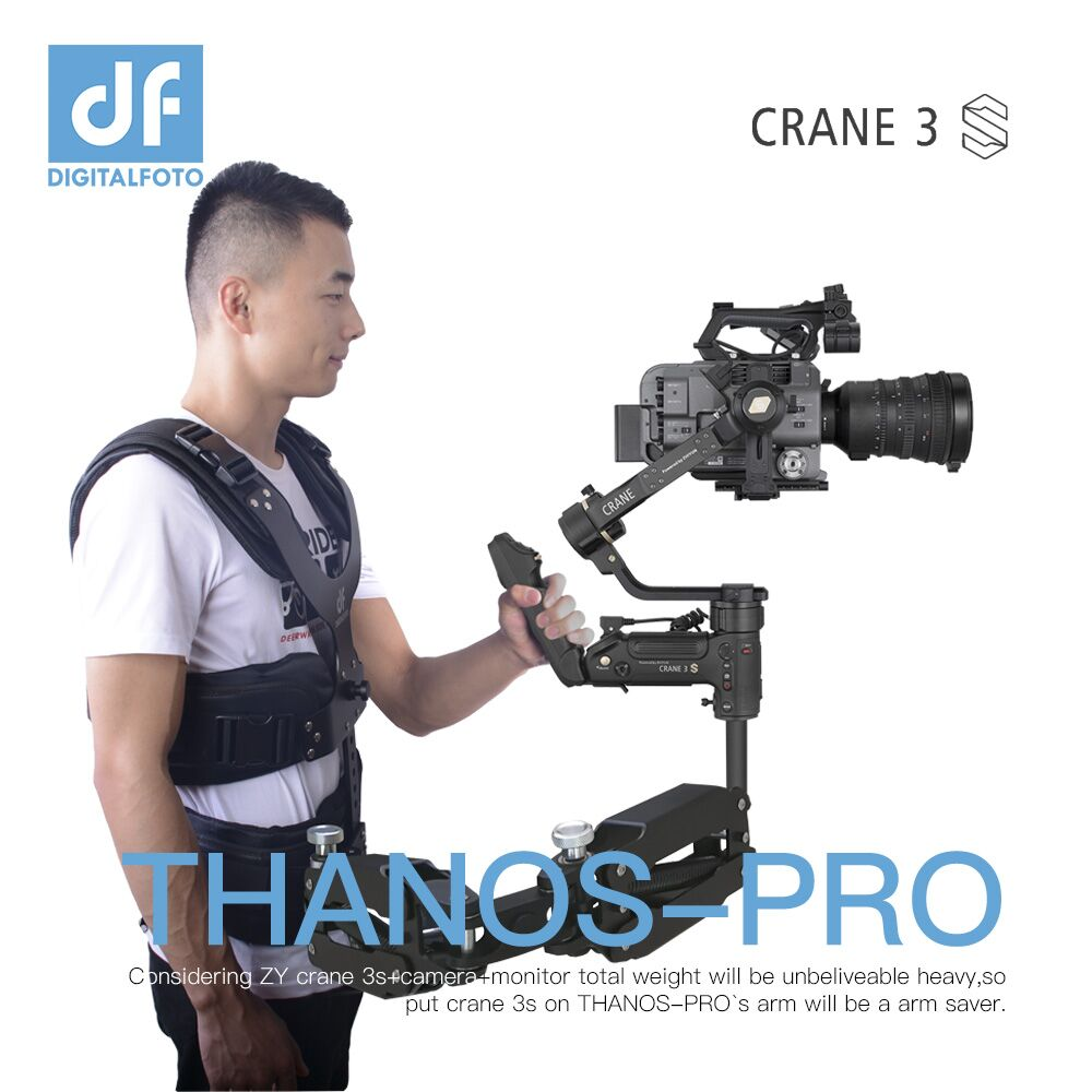 DIGITALFOTO THANOS-PRO Steadicam Z Axis Easyrig Readyrig Support Vest For ZHIYUN CRANE 3S/3 Gimbal