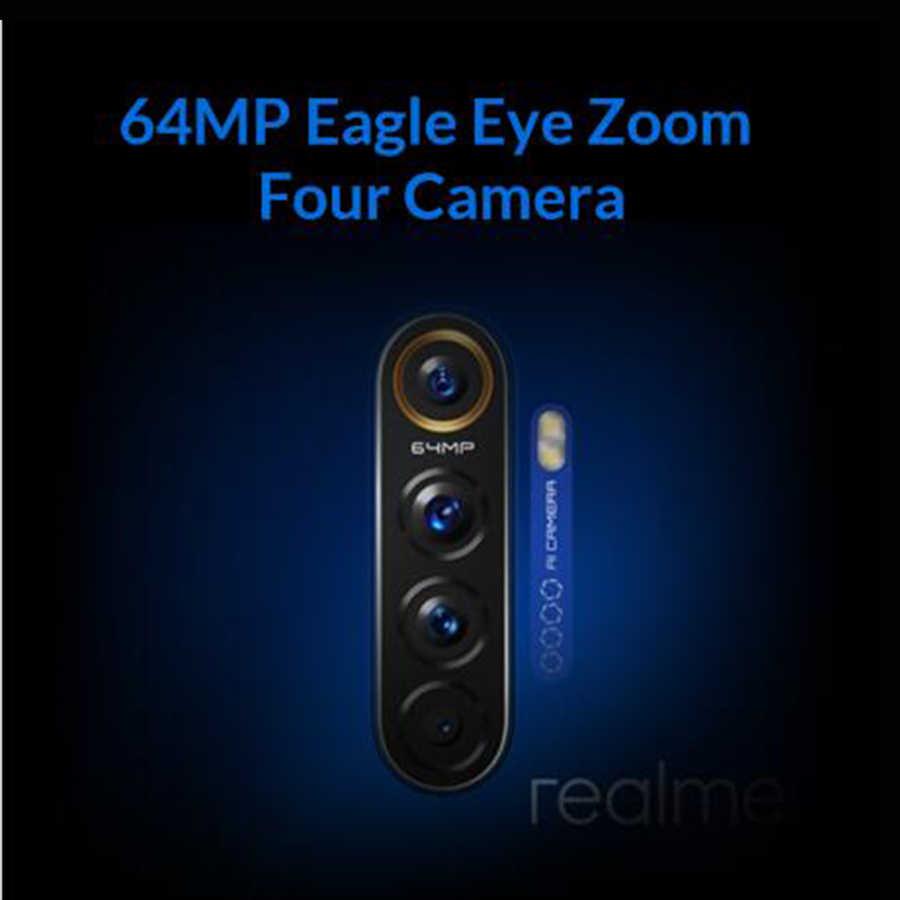 Globale Versione realme X2 Pro 8GB di RAM 128GB di ROM Del Telefono Mobile Snapdragon 855 Più 64MP Quad Fotocamera NFC cellulare 50W caricatore Veloce