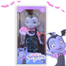 34cm Vampire Girl Junior Vampirina Dolls with Light Music Cry Babies  LOL Happygirl Dolls Action Figure Brinquedos Girls Toys