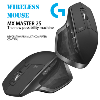 Logitech MX MASTER 2S 7 Buttons Dual Mode 4000DPI Gaming Mouse Macro Definition Rechargeable USB Wireless Bluetooth Laser Mice 2