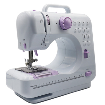 mini portable household electric pedal sewing machine edging mini sewing home multi-function double line repair machine