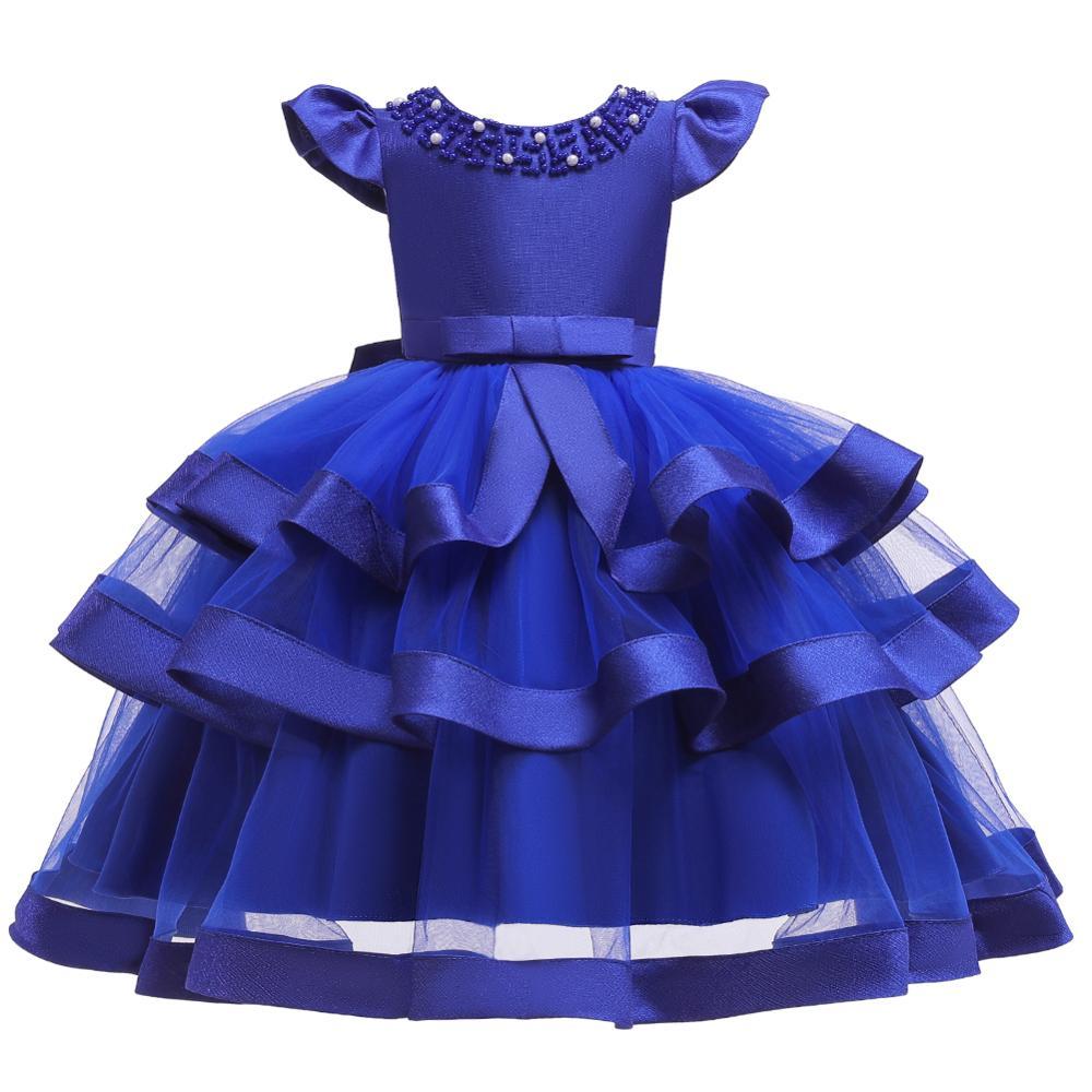 Girls Dress Elegant New Year Princess Children Party Dress Wedding Gown Kids Dresses for Girls Birthday Party Dress Vestido Wear 12