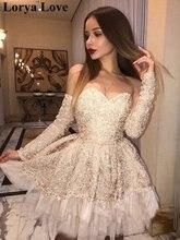 Коктейльные платья цвета шампань 2020 женское короткое вечернее