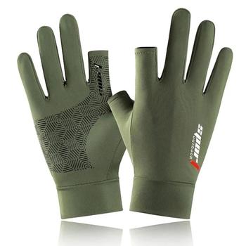 Wędkowanie łowienie rękawice chronią ręka profesjonalny Release Anti-slip rękawice rybne tanie i dobre opinie CN (pochodzenie) Pół palca