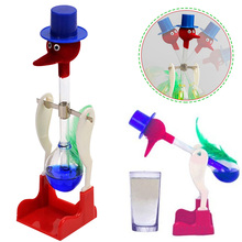 Подарки настольная жидкая образовательная безостановочная игрушка Интерактивная Забавная детская Питьевая Птица утка окунающая вечное движение Лаки