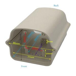 Image 5 - Ao ar livre à prova de intempéries câmera de vigilância de vídeo caso casa diy mini câmera cctv habitação janela vidro claro com suporte