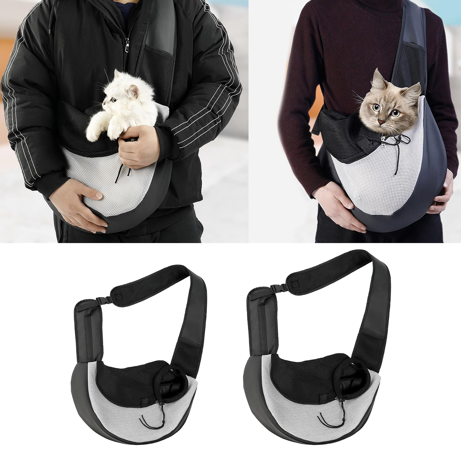 Pet Small Dog Cat Carrier Pouch Comfort Travel Tote Sling Backpack Outdoors