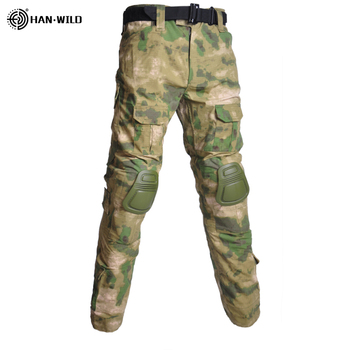 Military Uniform  Tactical Combat Shirt Us Army Clothing Tatico Tops Airsoft Multicam Camouflage Hunting FishingPants Elbow/Knee 22