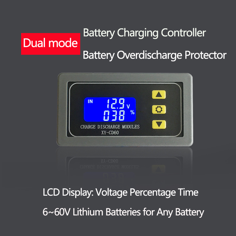 Battery Battery Charging Control Module Fully Powered Off DC Voltage Protection Undervoltage And Depletion Protector