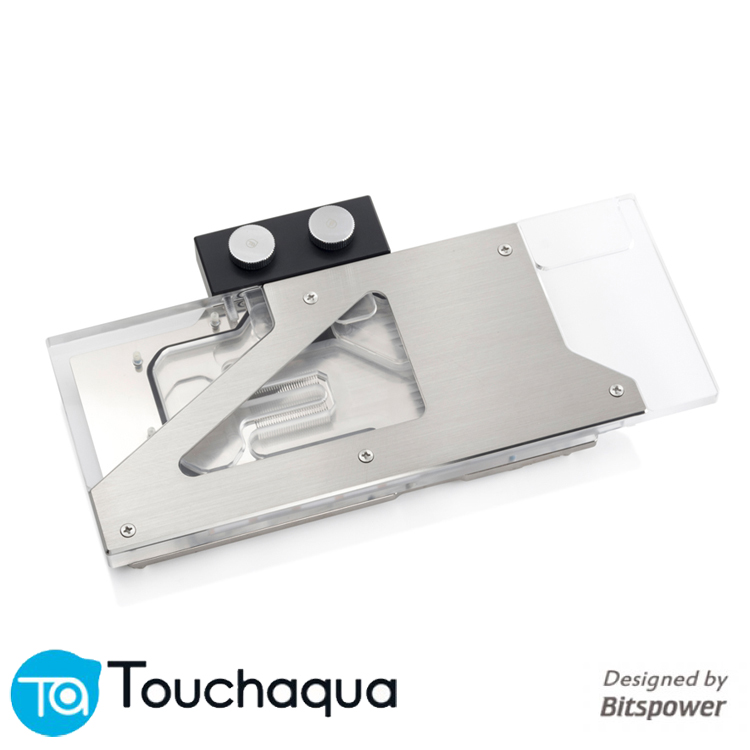Bitspower Touchaqua GPU water block for <font><b>NVIDIA</b></font> GeForce <font><b>RTX</b></font> <font><b>2080ti</b></font> 2080 Founder Edition series TITAN VGA Cooler image