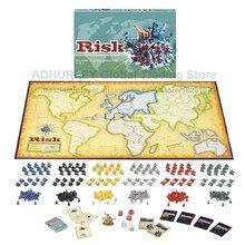Risco jogo de tabuleiro de estratégia global para dominação, jogos de guerra risico/risco, jogos de mesa, 2-6 jogadores