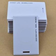 100 pçs/lote tag rfid 125KHz ID LOS TK4100/EM4100 Cartão Grosso cartão do Sistema de Controle de Acesso de Cartão RFID