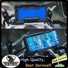 Para bmw r1250gs aventura r 1250 gs adv motocicleta suporte do telefone móvel carregador sem fio suporte de navegação r1200rs f650gs