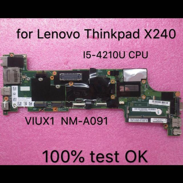 Thinkpad é adequado para x240 i5-4210 notebook placa-mãe. FRU 00HM954 00HM952 00HM955 00HM953