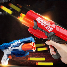Jouet Airsoft Darts pour pistolet Nerf, tête en mousse souple et creuse, recharge de balles de 7.2CM, balle sûre, jeu de plein air pour enfants garçons, cadeau