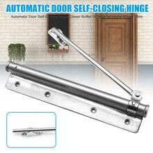 Горячая автоматическая дверь самозакрывающийся шарнир буфер-доводчик прочный для домашнего офиса магазин L99