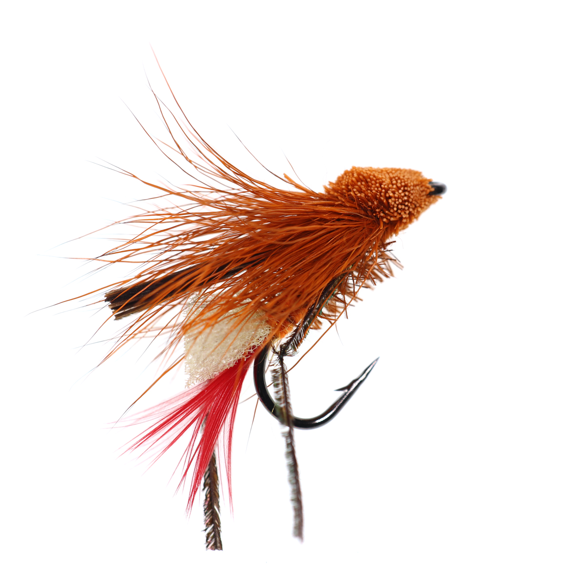 5PCS #10 Trout Fishing Fly Grass Hopper Fly terrestrial Hopper Fly Floating Bass Crappie Bug Bait Artificial Lure 12