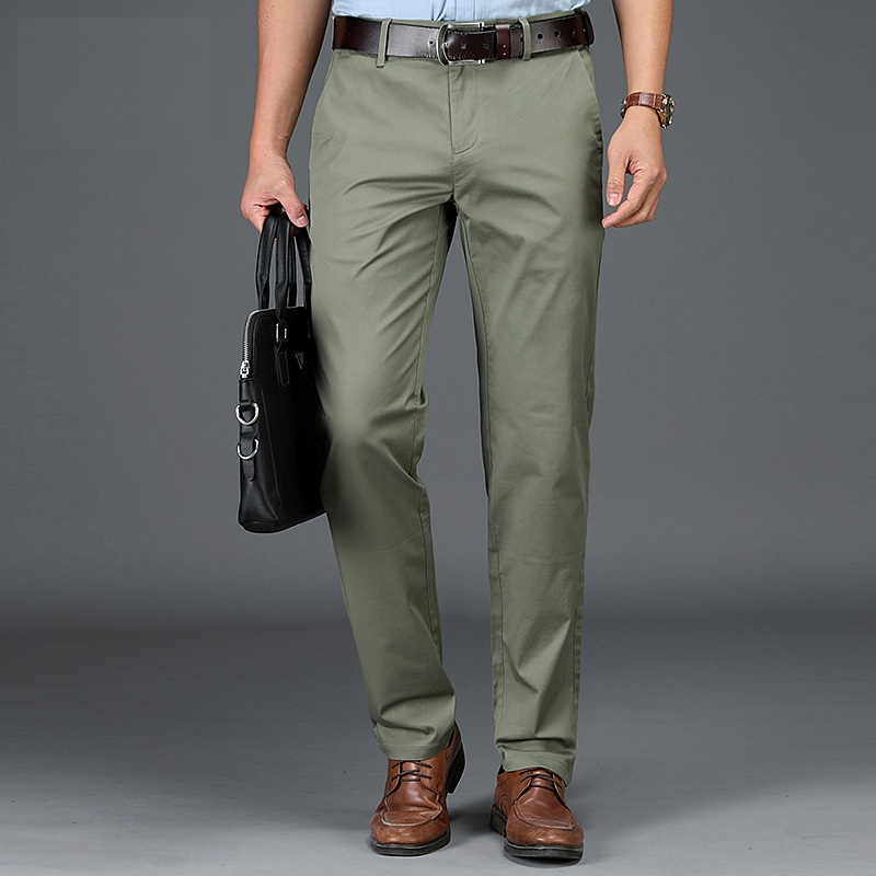 2020 Men's Spring And Autumn Loose Straight Multi-color Men's Long Pants Trousers  928