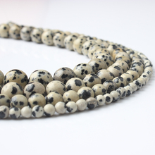 LingXiang fashion natural Jewelry Beautiful speckle stones beads DIY Men and women bracelet necklace Accessories