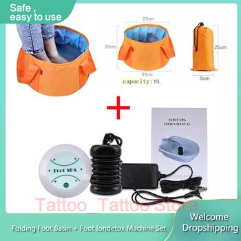 ionic detox massage machine Foot bath With Foot Sap massage Ion Cleanse Aqua Cell Spa ion detox relief pain foot massage Foot