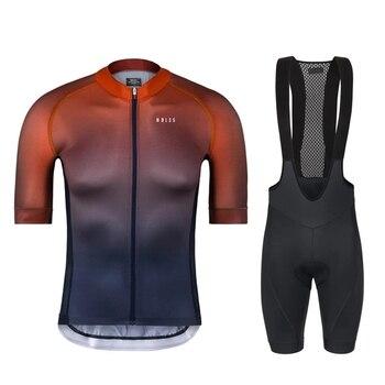 Equipo sin fin hombres ciclismo jersey 2020 verano MTB conjunto conjuntos de...