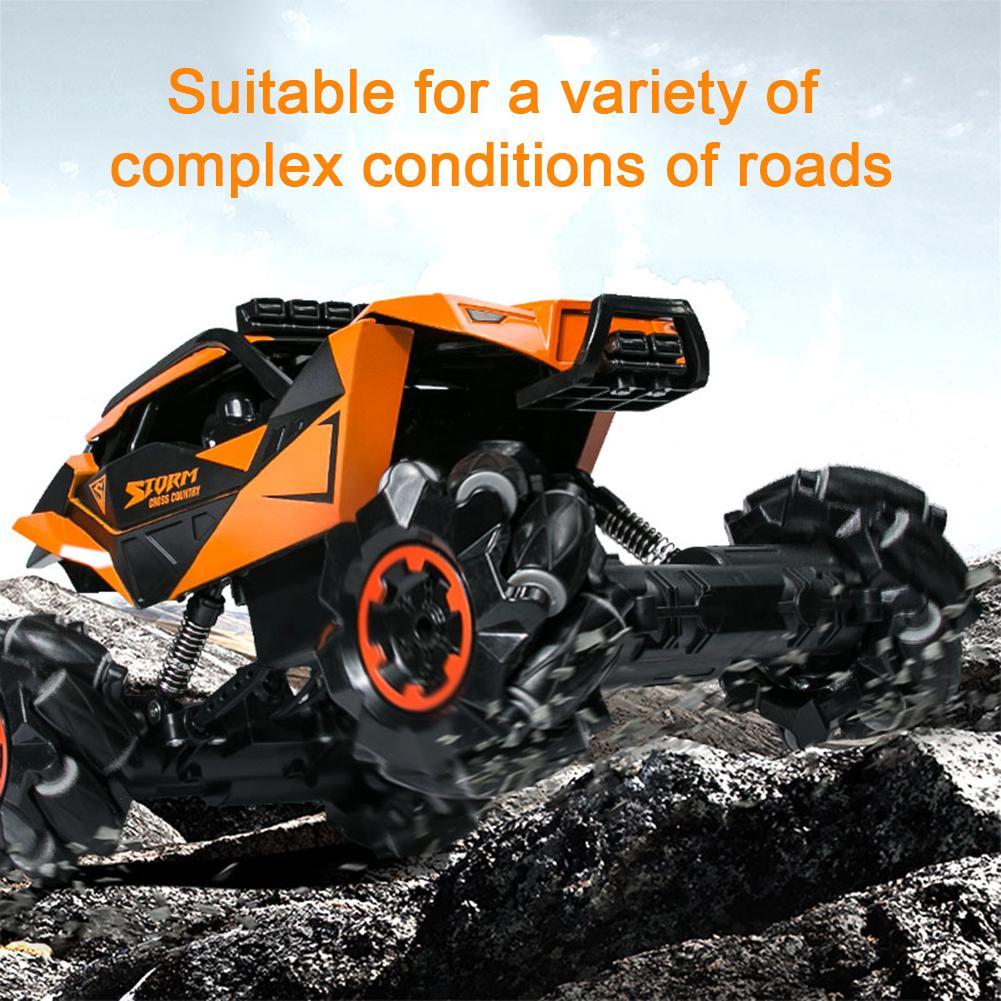 Автомобиль с дистанционным управлением 2,4G четырехколесный Радиоуправляемый электрический грузовик внедорожная Гоночная машина игрушка д... - 3